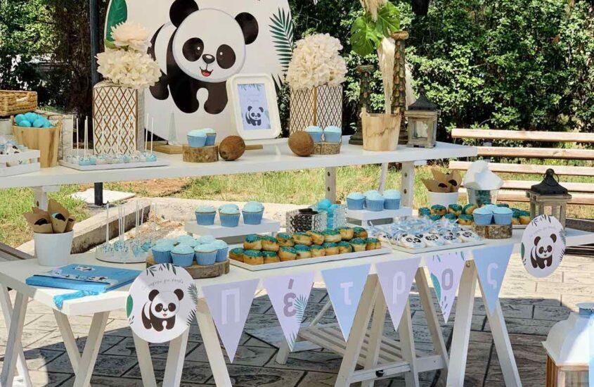 βαπτιση panda